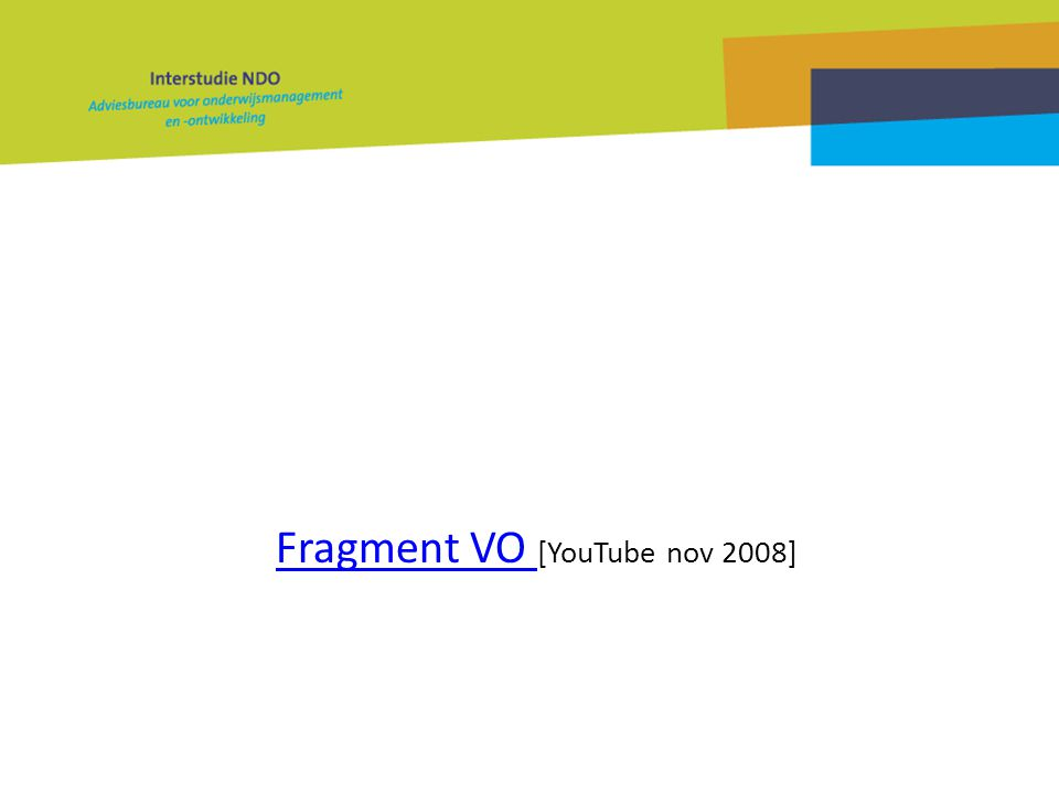 Fragment VO [YouTube nov 2008]